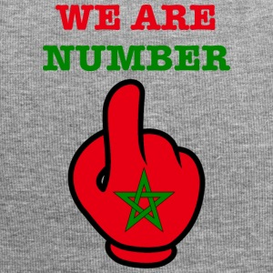 MOROCCO MAROKKO MAROC المغرب WE ARE NR 1 - Jersey-Beanie