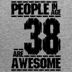 PEOPLE IN AGE 38 ARE AWESOME - Jersey Beanie