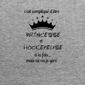 Princess and Hockeyeuse - Jersey Beanie