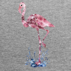 flamingo pink crystals Press - Jersey Beanie