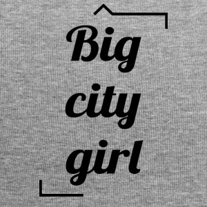 Big City Girl - Beanie in jersey