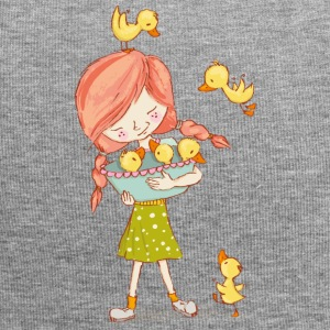 Girl with ducks - Jersey Beanie