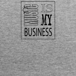 Music is my Business - Beanie in jersey