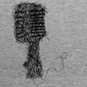 Scribble microphone - Jersey Beanie