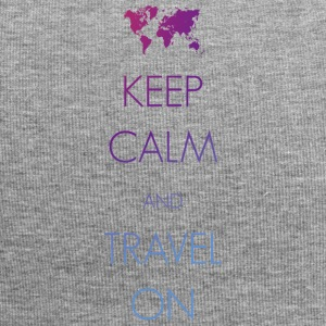 Keep calm and travel on - Jersey-Beanie