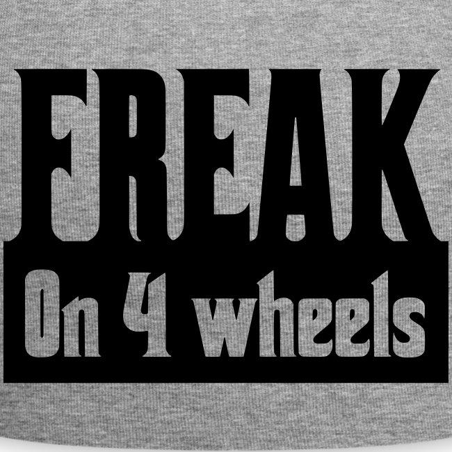 Gek op vier rolstoel wielen