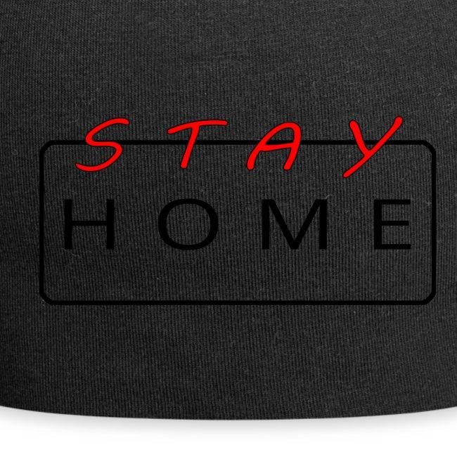stay home rot/schwarz
