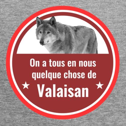 On a tous en nous qqch de Valaisan - Même le loup - Jersey-Beanie