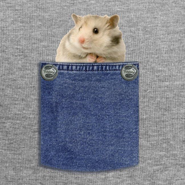 hamster in the poket