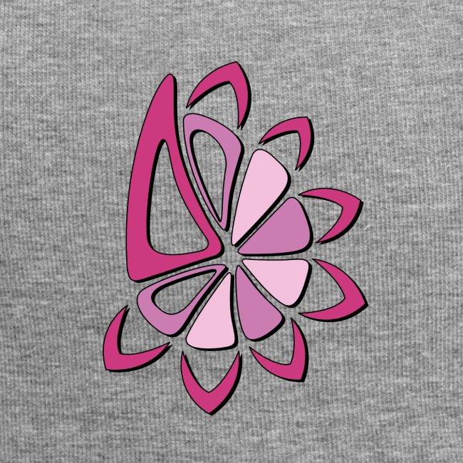 spicchi di sole multicolore rosa