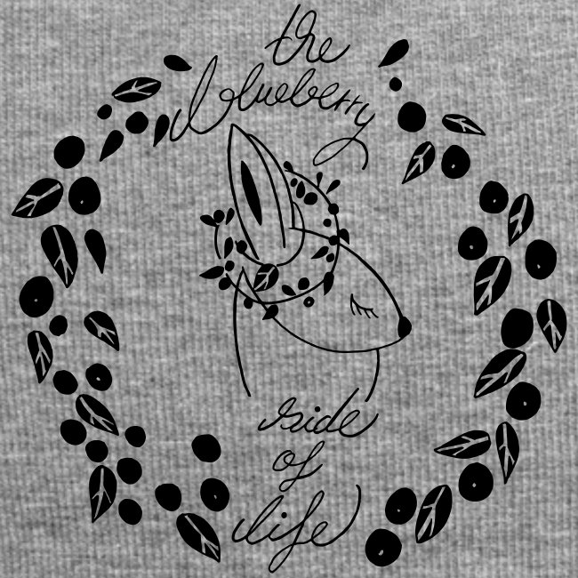 The blueberry side of life bunny