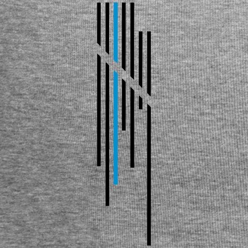 Wortkollektiv Logo Stripes - Jersey-Beanie