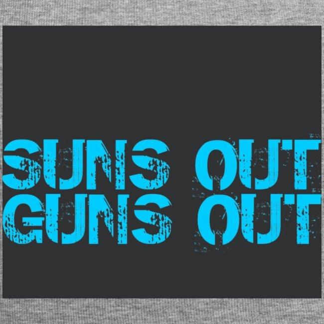 Felpa suns out guns out