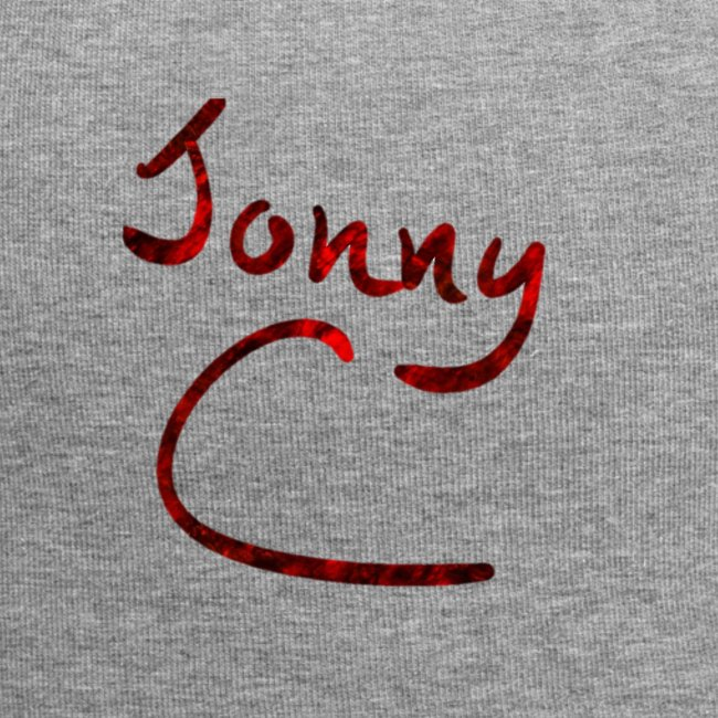 Jonny C Red Handwriting