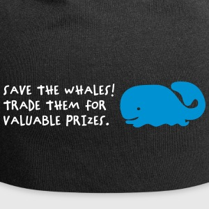 Save The Whales - Bonnet en jersey