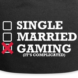 Single - Married - Gaming - Jersey-Beanie