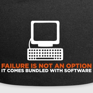 Failure Is Not An Option. It S A Feature! - Jersey Beanie