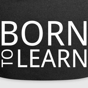 Born to learn - Jersey Beanie
