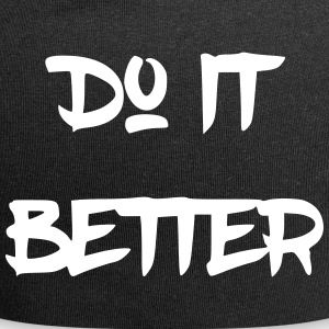 Do it better - Jersey Beanie