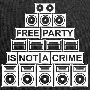 FREE PARTY IS NOT A CRIME - SOUND SYSTEM 2014 - Jersey-Beanie