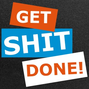 GET SHIT DONE VECTOR - Jersey Beanie