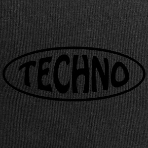 Techno - Beanie in jersey