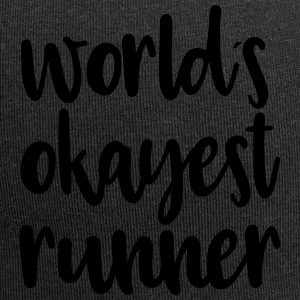 World's okayest runner - Jersey Beanie