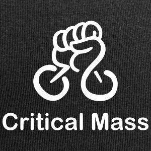 Critical Mass organized cyclist's accident - Jersey Beanie