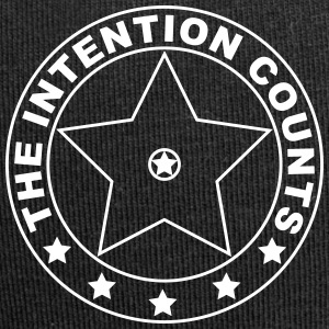 THE INTENTION COUNTS - Jersey Beanie