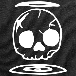 Comic schedel / Skull - Jersey-Beanie