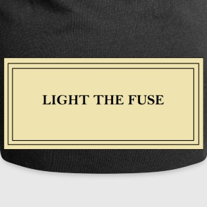 Light the fuse - Beanie in jersey