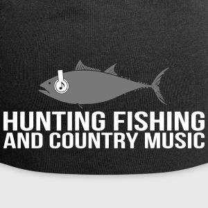 Hunting Fishing and Country Music - Jersey Beanie