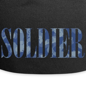 Soldier Camouflage - Beanie in jersey
