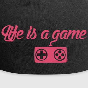 Life is a game (F) - Jersey Beanie