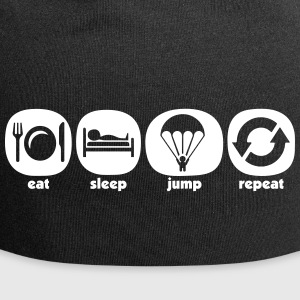 Eat Sleep Jump Repeat - Jersey-Beanie