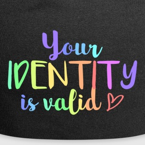 Your identity is valid - Jersey Beanie
