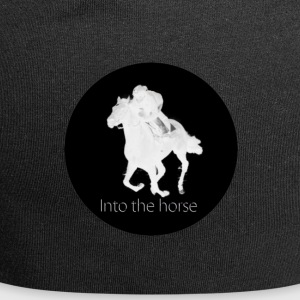 logo_intothehorse - Beanie in jersey