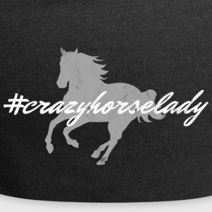 crazy horse lady - Jersey Beanie