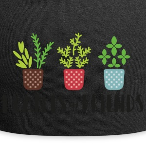 PLANTER i farver - Jersey-Beanie