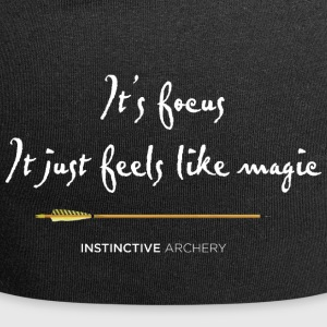 Archery? It's focus - It just feels like magic - Jersey Beanie