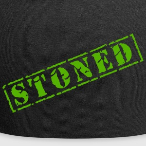 Lustige Marihuana-Hanf-Weed Pot Stoned - Jersey-Beanie