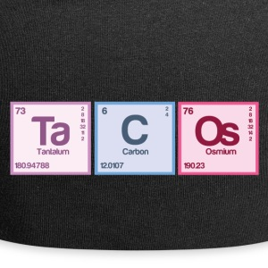 Periodic table elements: Ta C Os - Jersey Beanie
