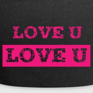 I love you - Jersey Beanie