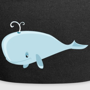 whale65 - Beanie in jersey