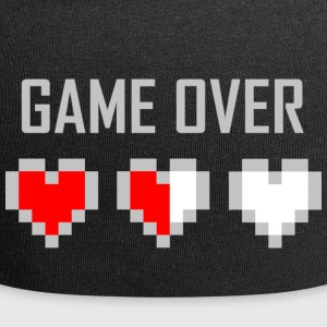 game_over_tshirt_vector_by_warumono1989-d7tn9e8 - Gorro holgado de tela de jersey