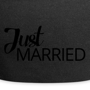 Hochzeit / Heirat: Just Married - Jersey-Beanie