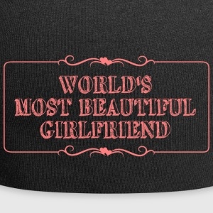 Most beautiful girlfriend - Jersey Beanie