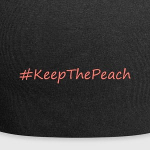 Hashtag KeepThePeach Coral - Beanie in jersey