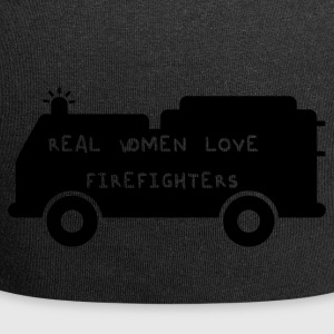 Fire Department: Real Women Love Firefighters - Jersey Beanie
