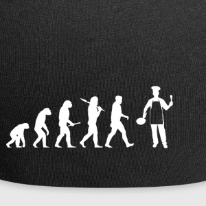 Evolution boss! Cook! Cook! Funny! - Jersey Beanie